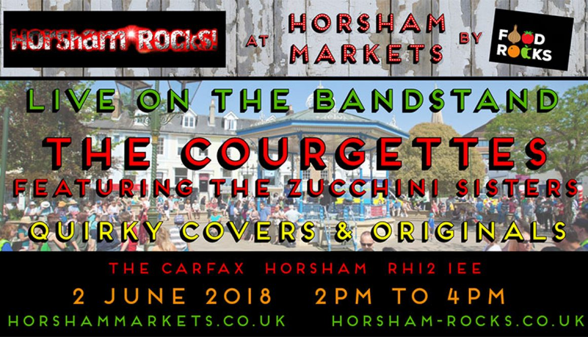 Horsham Rocks Twitter ad